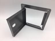 Wizard Spiral Gumball Machine Hinged Security Back Cash Box Door Replacement
