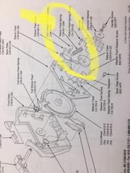 "Return Pawl Mechanism Spring For 2"" Capsule Machine Super 80 2001 and Similar"