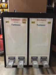 Impulse 4 column Sticker Tattoo Pokemon Sports Baseball Card vending machine