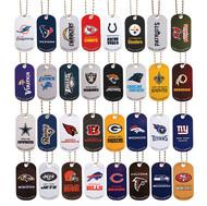 Full Set of NFL Dog Tags