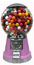 Magical Pink Gumball Machine