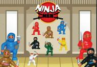 100 Mini NINJA Figurines FREE Shipping!