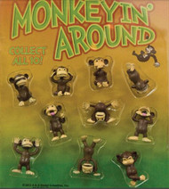 100 Hilarious Mini Monkey Figurines with FREE Shipping!!