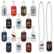 NFL Football Set Metal Dog Tags Set 32 Teams with FREE Shipping!