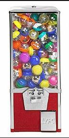 """New 2"""" Capsule Vending Machine"""