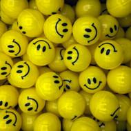 Smile Emoji Plastic Balls Vending Machine Toys, 100 Pieces, 1-inch