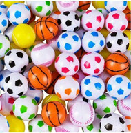 Beer Pong Balls Plastic Sports Themed 100 Pieces 32mm