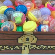 Treasure Chest Refill Capsules, 250 Pieces, 2-inch Capsules