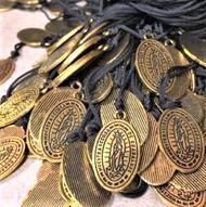 Virgen De Guadalupe Necklaces Baptism First Communion Favors Recuerdo Bautizo, 150 Pieces