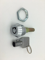 Screw Type Lock & Key Replacement Set for Vending Machines and Other Applications