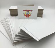 2,000 Folders Chipboard Vending Sleeves