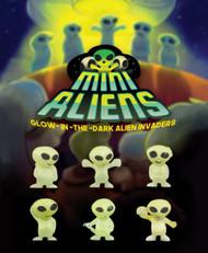"""Glow Aliens 250 pieces in 1.1"""" Capsules"""