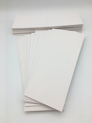 Free Shipping -  2000 White Folders Sleeves for Cards Tattoos Stickers