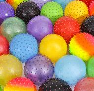 Knobby Inflatable Balls, Sensory, Stress, 500 pieces