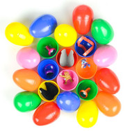 Supersized Box of 350 filled Vending Eggs with Assorted Toys and Surprises