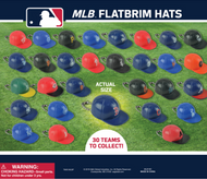 """MLB Caps 250 2"""" Filled Capsules with Baseball Hats Only 25 cents each"""