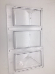 New Front Plastic Panel for Northwestern Triple Play Gumball Vending Machine