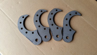 Weld on Axle Mounts (set of 4)