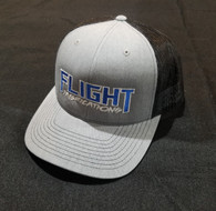 Flight Fab Heather Grey/Black Snapback Hat