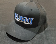 Flight Fab Black Snapback Hat