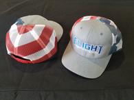 Flight Fab Red, White, & Blue Snapback Hat