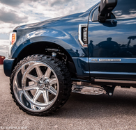 05-2021 Ford Superduty F250/F350/F450 Billet Aluminum Series 2 front 4 link kit
