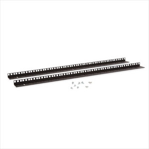 18U Wall Mount Vertical Rail Kit