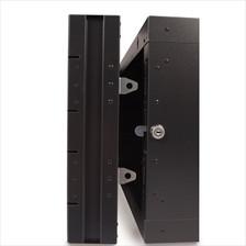 Locking Mechanism on 15U Swing Out Wall Cabinet