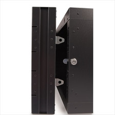 Locking Mechanism on 22U Swing Out Wall Cabinet