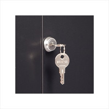 Front Door Lock on a 9U Wall Mount Cabinet
