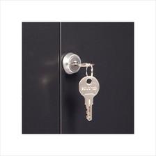Front Door Lock on a 22U Wall Mount Cabinet