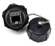 Cat6 industrial coupler jack