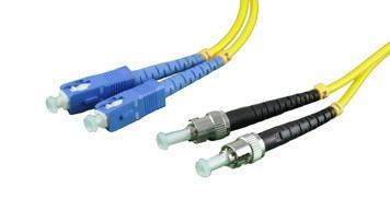 Duplex Singlemode Fiber ST to SC