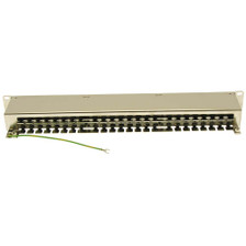 Shielded 48 Port Cat6 Patch Panel