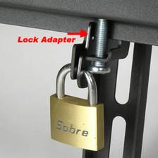 lock on tilting tv mount