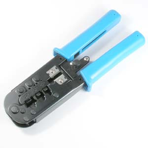 Crimp Tool RJ45/11/12 with Ratchet