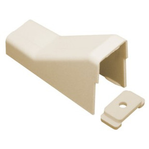 """1 3/4"""" Raceway Ceiling Entry White, 10 pieces"""