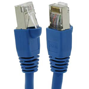 Cat6a Shielded Patch Cable 15'