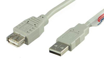 3' USB Extension Cable