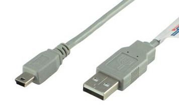 3' USB A to Mini B Cable