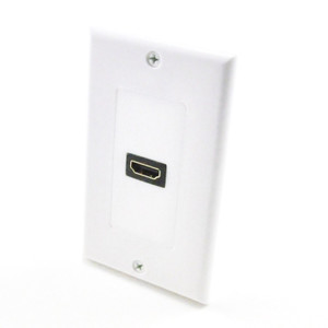 hdmi wall plate with pigtail