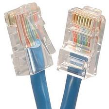 2' Blue Cat5e Patch Cable