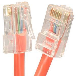 2' Orange Cat5e Patch Cable