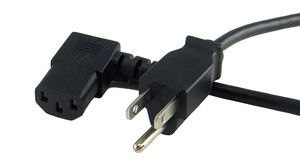 power cord right angle