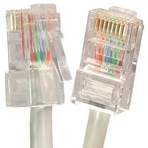 15' Gray Cat5e Patch Cable