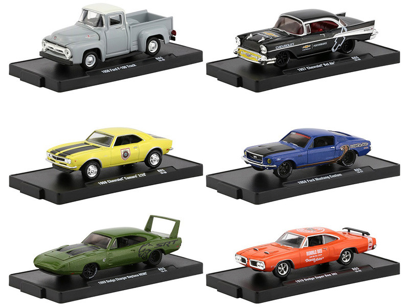 Drivers Release 65 Set of 6 pieces 1/64 Diecast Model Cars M2 Machines 11228-65