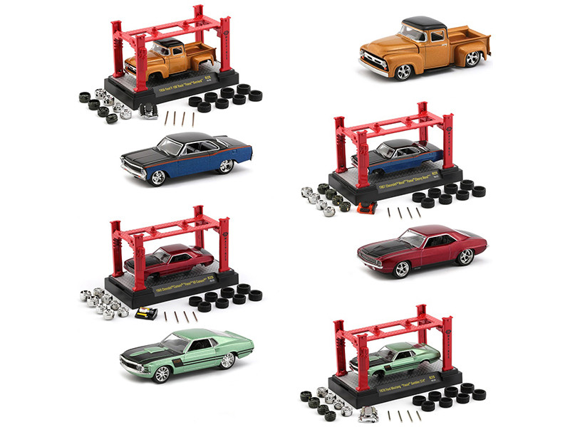 Model Kit 4 piece Car Set Release 29 Foose 1/64 Diecast Model Cars M2 Machines 37000-29