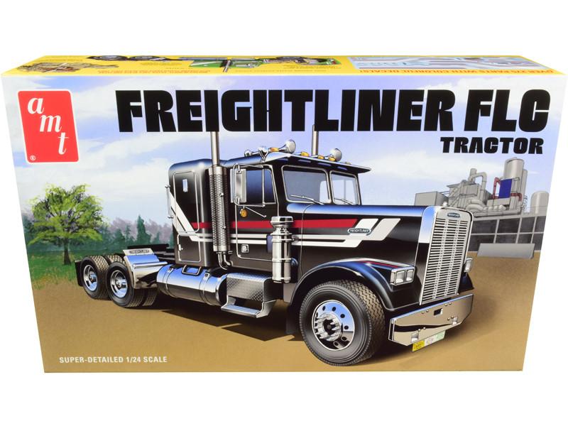 Skill 3 Model Kit Freightliner FLC Truck Tractor 1/24 Scale Model AMT AMT1195
