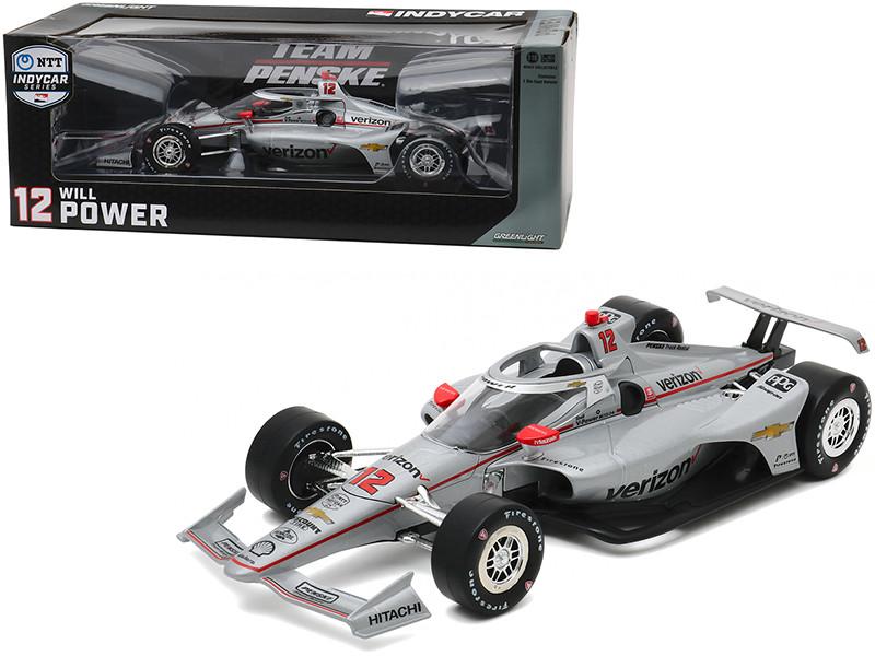 Dallara IndyCar #12 Will Power Verizon Team Penske NTT IndyCar Series 2020 1/18 Diecast Model Car Greenlight 11086