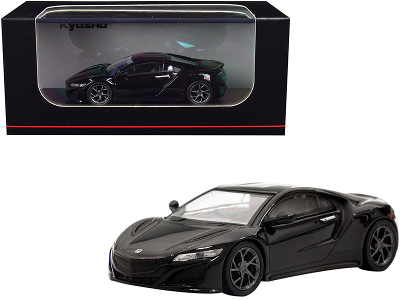 Honda NSX RHD Right Hand Drive Black 1/64 Diecast Model Car Kyosho KS07066A2